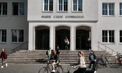 Sie interessieren sich für das Marie-Curie-Gymnasium?
