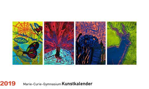 Der neue Kunstkalender 2019 – Spannende Arbeiten zum Mitnehmen