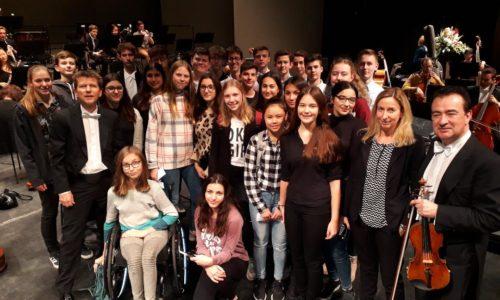 Marie-Curie goes Classic – Die 9a zu Gast bei der Neuen Philharmonie Westfalen