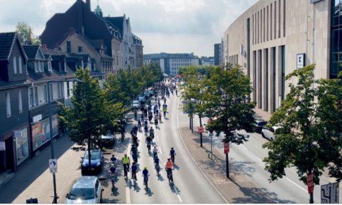 Bessere Radwege für Schülerinnen und Schüler – MCG startet Kidical Mass in Recklinghausen